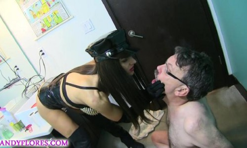 Extreme Smoking Seat With Slave Ray HD Mandy Flores Mymandygirl
