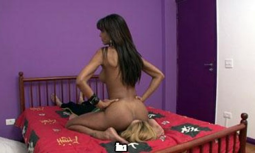 Nasty Facesitting With Spit HD Brazilsmother