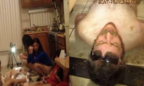 Dom-princess - Scat-princess - Toilet Man Abuse In The Kitchen Part 5 Adison Sd Dom-princess