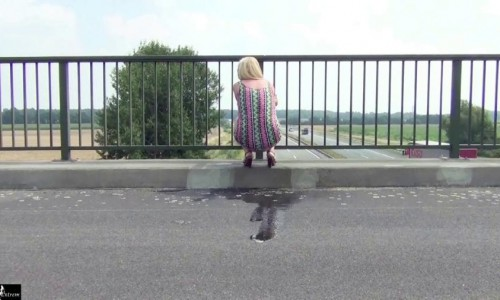 5 times, public outdoor, shitting! hd rosellaextrem