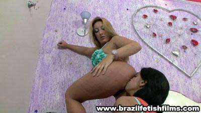 Brazilfetishfilms - Sheilas First Ass Worship Experience Hd