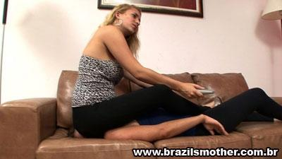 Facesitting In The Living Room HD Brazilsmother