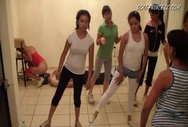 Dom-princess - Scat-princess - Toilet Slaves Aerobic Lessons Part 4 Dom-princess